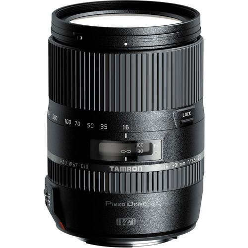 Tamron 16-300mm f/3.5-6.3 Di II PZD MACRO Lens and Filter Kit