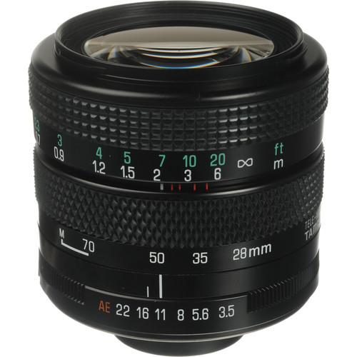 Tamron 28-70mm f/3.5-4.5 Adaptall Lens with Olympus OM Adaptall