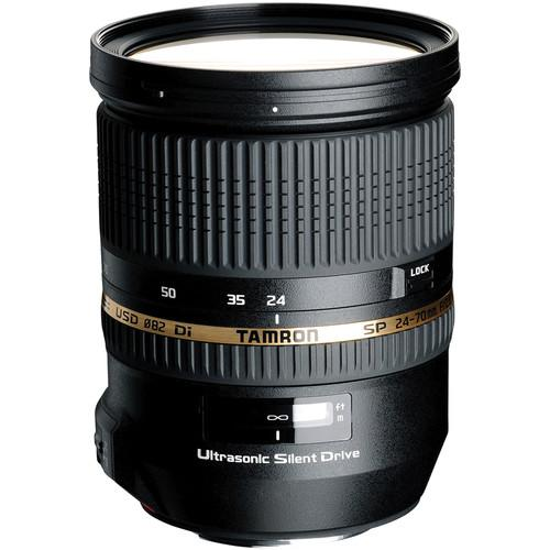 Tamron SP 24-70mm f/2.8 Di USD Lens and Filter Kit for Sony A