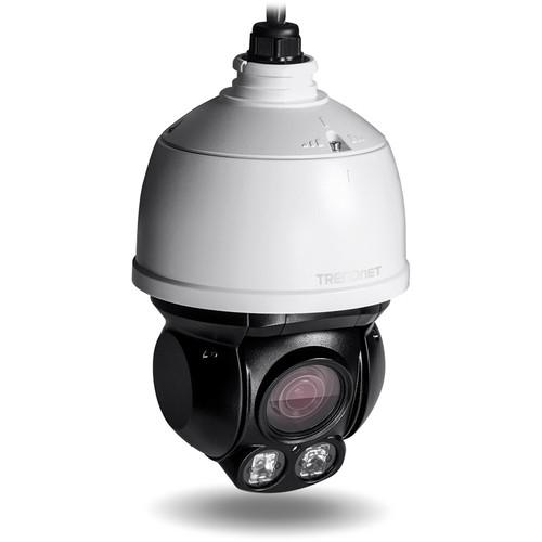 TRENDnet Outdoor 2MP 1080p PoE  IR Mini Speed Dome TV-IP430PI