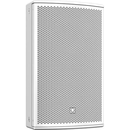 Turbosound NuQ-10DP Self-Powered 2-Way Loudspeaker NUQ10DPWH