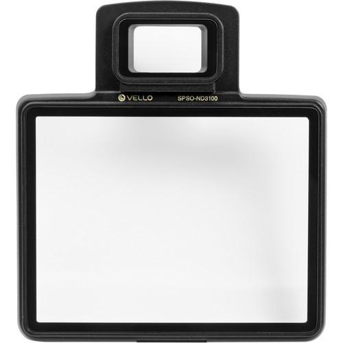 Vello Snap-On Glass LCD Screen Protector for Nikon SPSO-ND3100
