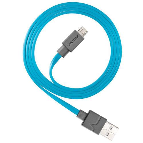 Ventev Innovations Chargesync Micro-USB Cable (Blue, 6') 515663