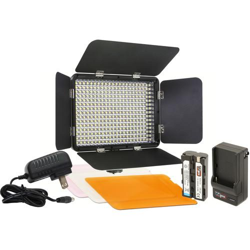 Vidpro LED-330 On-Camera LED Video Light Kit LED-330