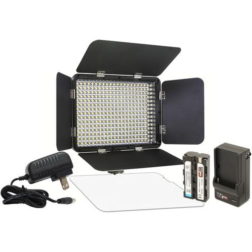 Vidpro LED-330X Variable-Color On-Camera LED Video LED-330X