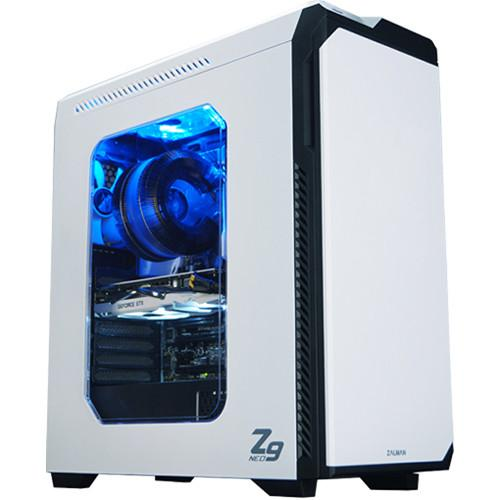 ZALMAN USA Z9-NEO ATX Mid Tower Desktop Case with 5 ZM-Z9-NEO-WH