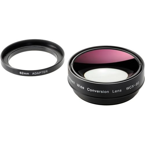 Zunow x0.8 Wide Conversion Lens with 72-62mm Down WCX-80