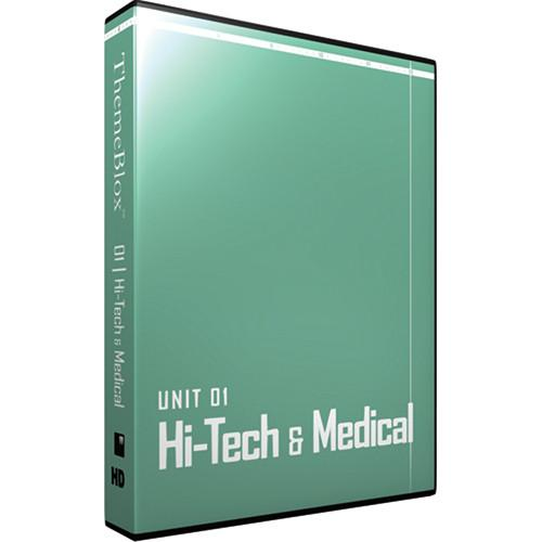 12 Inch Design ThemeBlox HD Unit 01 - Hi-Tech & 01THM-HD