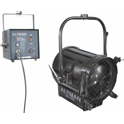 Altman Blacklight Fresnel with Ballast - 400 Watts UV-703