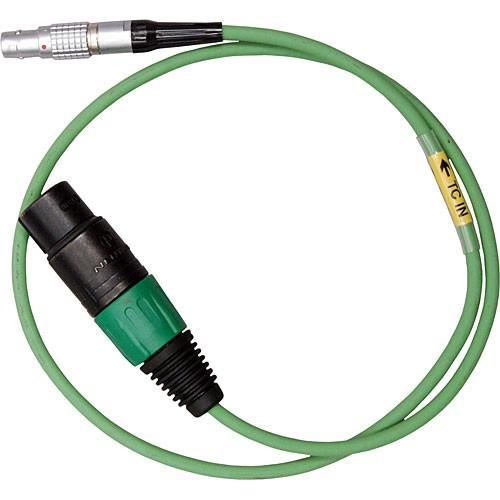 Ambient Recording 5-Pin Lemo Male to 3-Pin XLR Female TC-IN