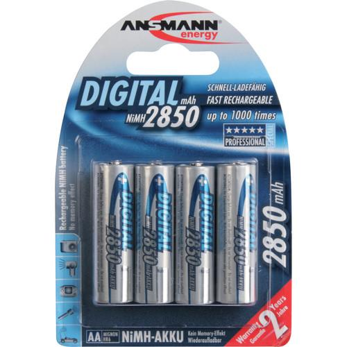 Ansmann AA Rechargeable NiMH Batteries AN34-5035092