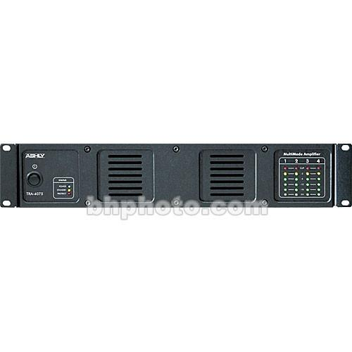 Ashly TRA-4075 - Rackmount 4-Channel Power Amplifier TRA-4075
