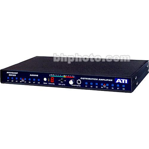 ATI Audio Inc DA2016-1 - Dual 1-In/8-Out Audio DA2016-1