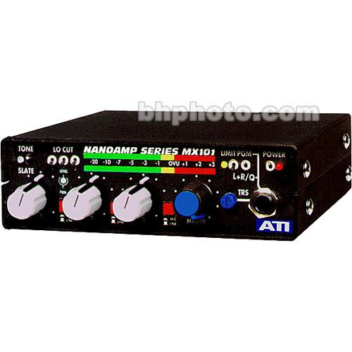 ATI Audio Inc  MX-101 Field Audio Mixer MX101