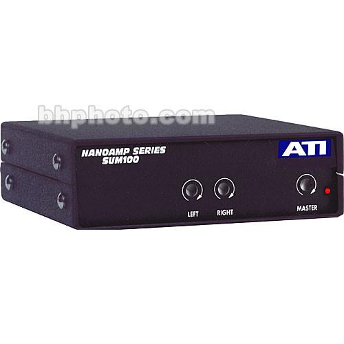 ATI Audio Inc SUM100 Stereo to Mono Summing Amplifier SUM100-RCA