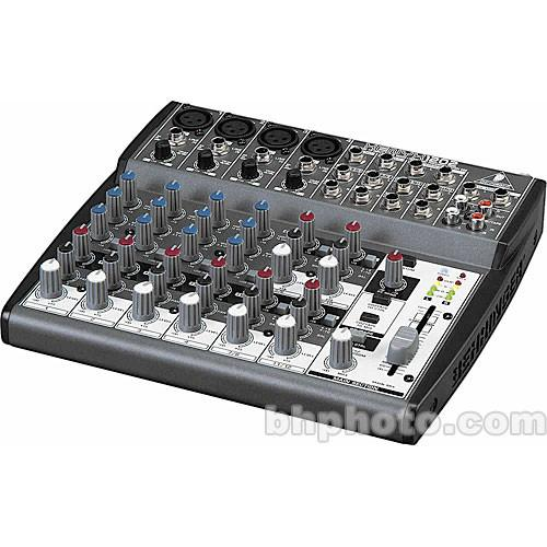 Behringer XENYX 1202 - 12 Channel Audio Mixer 1202