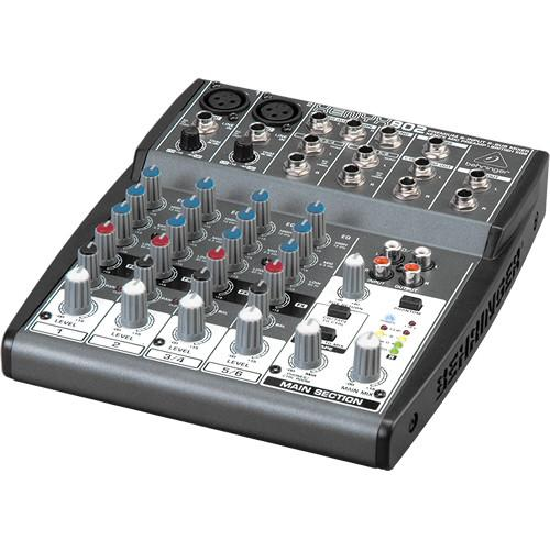 Behringer XENYX 802 8-Channel Compact Audio Mixer 802