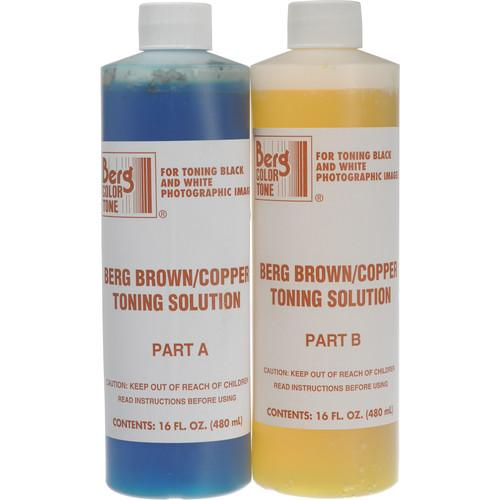 Berg Toner for Black & White Prints - Brown-Copper BCTS128