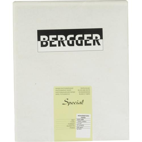 Bergger 100% Cotton Uncoated Paper - 11x14