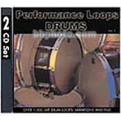 Big Fish Audio Sample CD: Performance Loops - Drums PLDR1-WZ