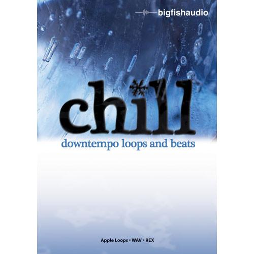 Big Fish Audio Sample DVD: Chill - Downtempo Loops and CDTL1-ORW