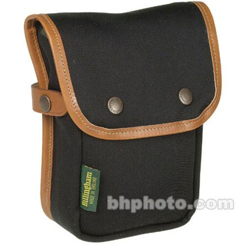 Billingham Delta End Pocket (Black with Tan Trim) BI 500401