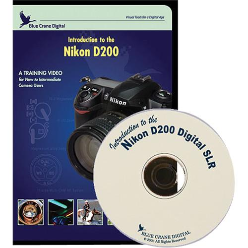 Blue Crane Digital DVD: Training DVD for Nikon D200 BC106