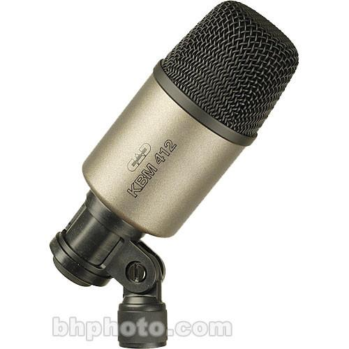 CAD KBM412 Large Diameter Dynamic Drum Microphone KBM412
