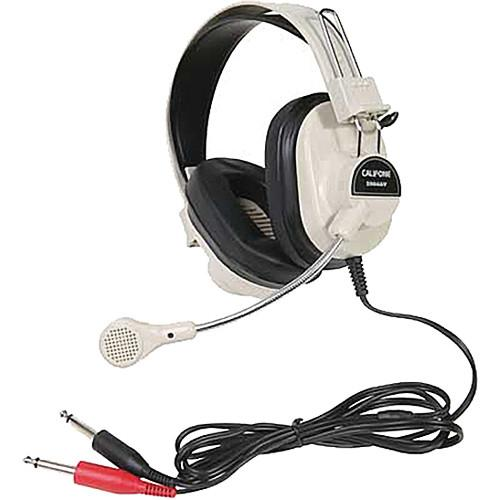 Califone 2964AV Mono Headset with Boom Microphone 2964AV