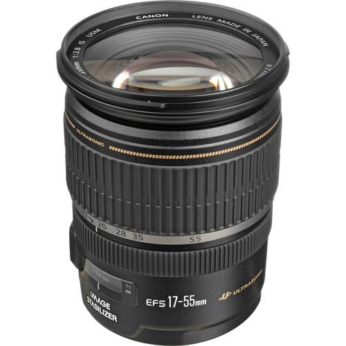 Canon  EF-S 17-55mm f/2.8 IS USM Lens 1242B002