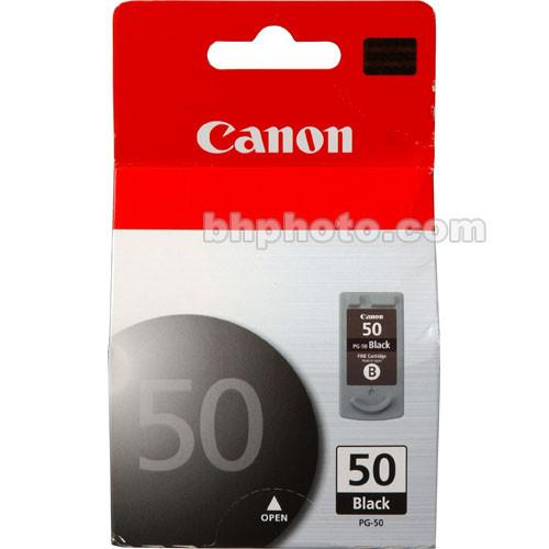 Canon PG-50 High Capacity Black Ink Cartridge 0616B002