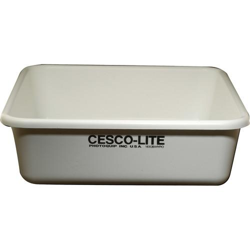Cescolite Plastic Deep Hypo Bath Developing Tray - CL16H20