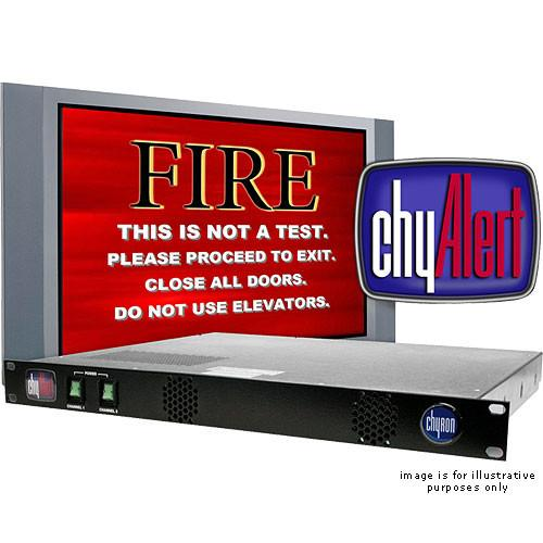 Chytv 7A00270 ChyAlert Two Channel Video Alert System 7A00270