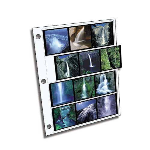 ClearFile Archival Plus Negative Page, 6x6cm - 25 Pack 160025B