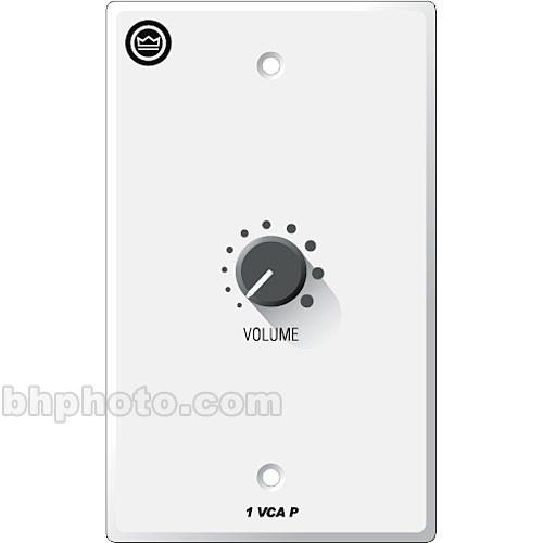 Crown Audio 1-VCAP - 1-Gang Wall Control Panel for VCA-MC 1VCAP