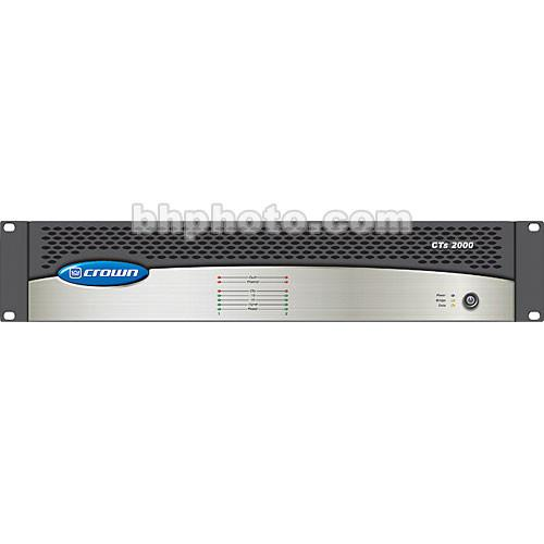 Crown Audio CTs-2000 - Two-Channel Power Amplifier - CTS2000