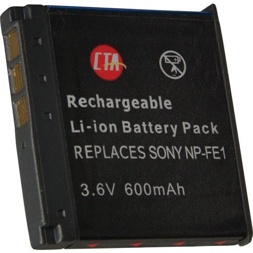CTA Digital NP-FE1 Lithium-Ion Battery (3.6v 600mAh) DBFE1