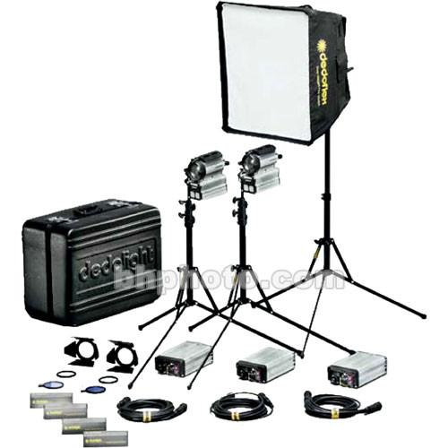 Dedolight 200W Sundance HMI 1 Light Hard Kit Case K200-3
