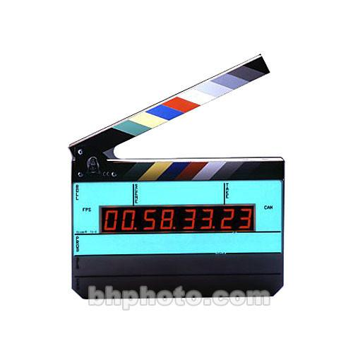 Denecke TS-3 Time Code Slate - Black and White Clapper, TS-3ELBW