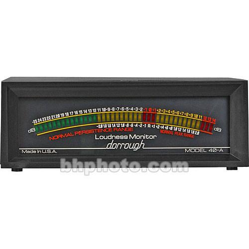 Dorrough  40-A - Analog Loudness Meter 40-A