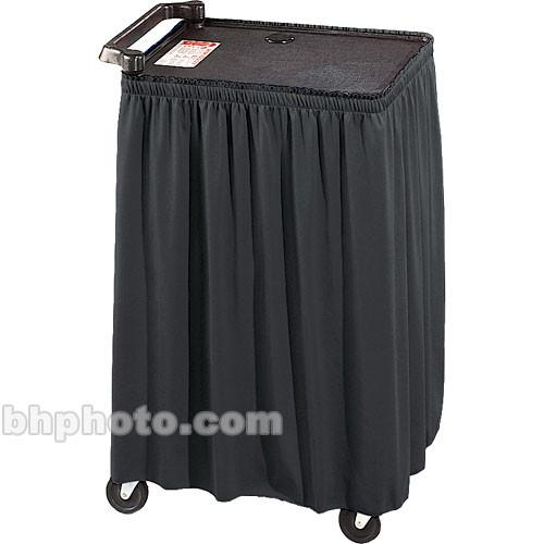 Draper Skirt for Mobile AV Carts/Tables - 50 x C168.233