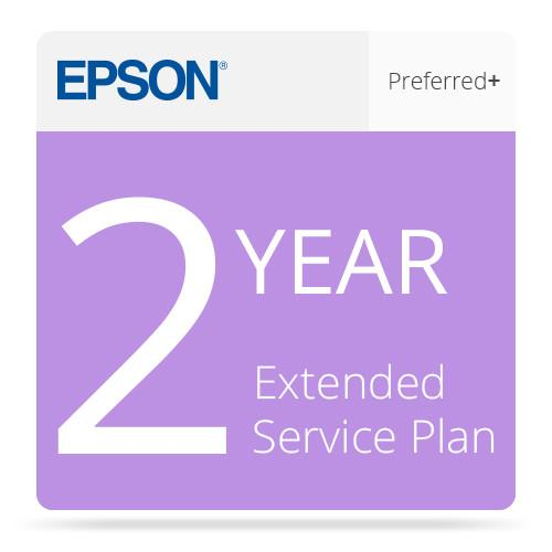 Epson 2-Year Preferred Plus Extended Service Plan EPP7898B2
