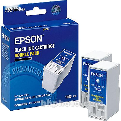 Epson Double Black Ink Cartridge for Stylus Color 900/980