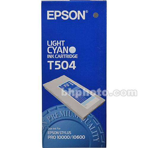 Epson  Photo Dye Light Cyan Ink Cartridge T504011