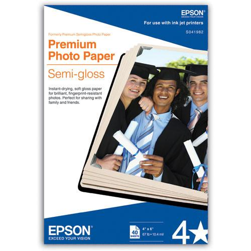 Epson Premium Semi-Gloss Photo Paper for Inkjet S041982