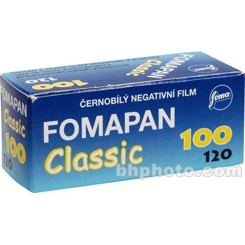 Foma Fomapan 100 Classic Black and White Negative Film 420112