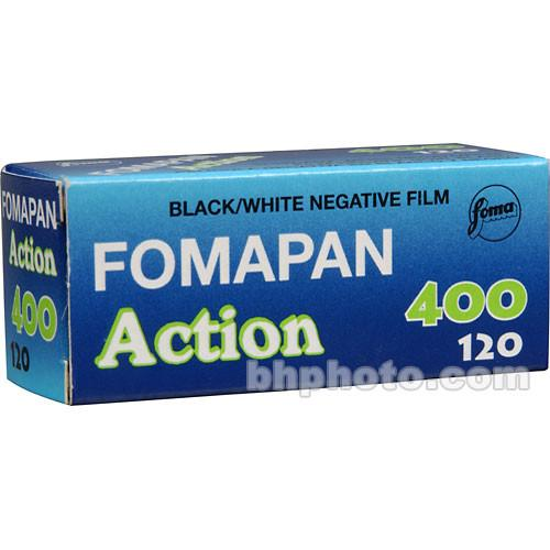 Foma Fomapan 400 Action Black and White Negative Film 420412