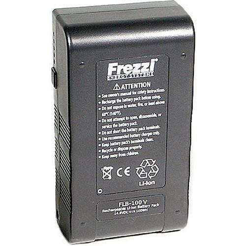 Frezzi FLB-100V 14.8 VDC Lithium Ion Brick Battery 93910