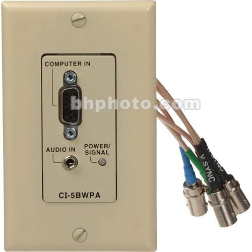 FSR CI-5BWPAIVR Wall Plate Interface and Line Driver