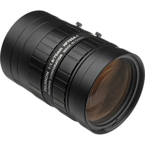 Fujinon HF75SA-1 75mm f/1.8 C-Mount Fixed Focal Lens HF75SA-1